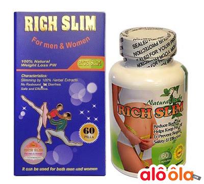 Viên giảm cân an toàn Rich Slim USA