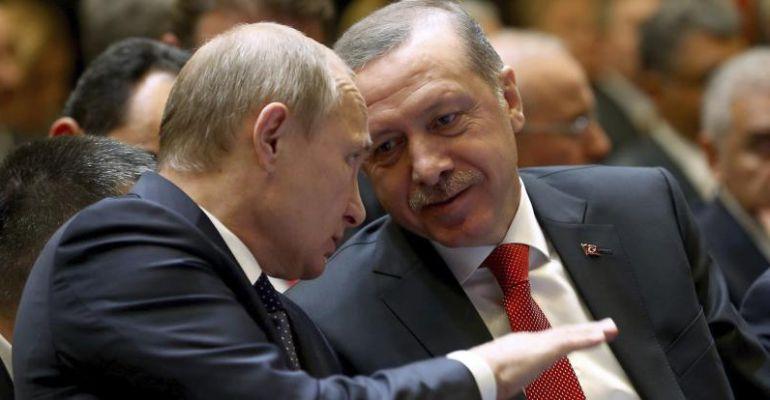 Erdogan pide disculpas a Putin por el derribo del avión militar ruso