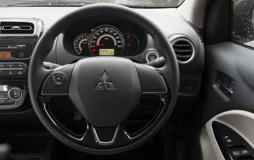 Interior Hyundai Grand i10 vs New Mitsubishi Mirage