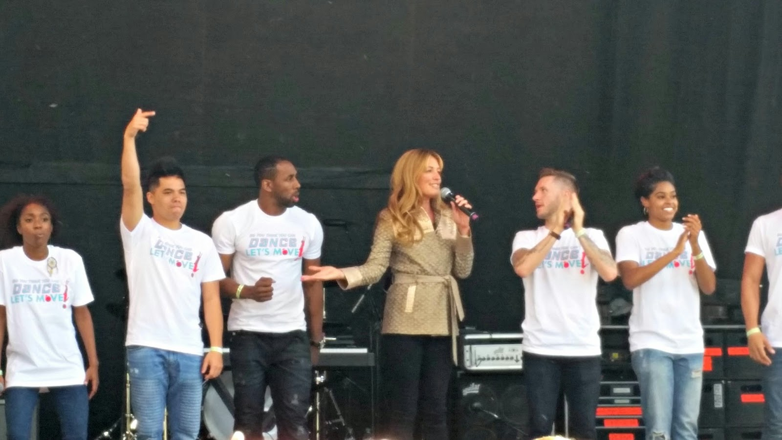 Cat Deeley, 2015 White House Easter Egg Roll, DC Monuments, Michelle Obama, President Obama, Travis Wall, Twitch