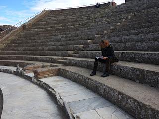 Passeio em Roma, Ostia Antiga- Teatro Antigo Roma