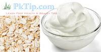 Oatmeal And Yogurt For Skin Whitening