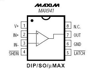 Dictionary of Electronic Components: MAX941CPA