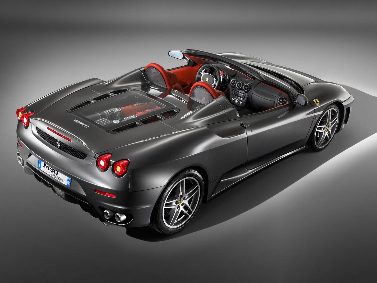 Rolls Royce Phantom Hd Wallpapers >> World Of Cars: Ferrari f430 spider wallpaper