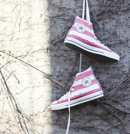 Diện đồ cùng giày Converse cực cool