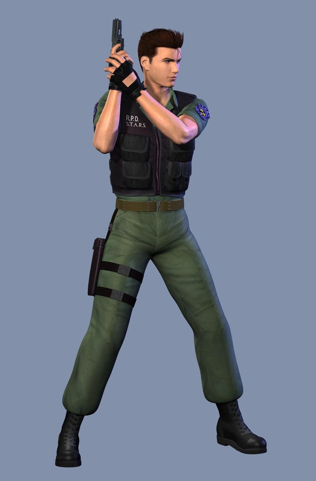 Welcome Zombie Freaks: Karakter Game Resident Evil