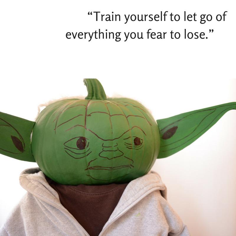 Practical Mom: Halloween Pumpkin Yoda!