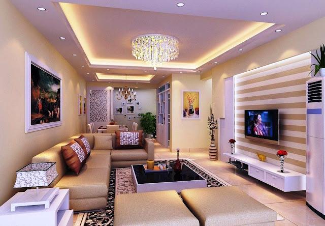 Ide Desain Plafon Untuk Ruang Tamu