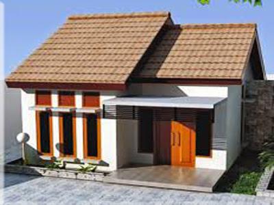 contoh warna cat rumah bagian depan sederhana