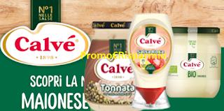 Logo ''Prepariamo qualcosa di buono con Calvé'' per vincere 90 buoni spesa e una vacanza Eco Friendly
