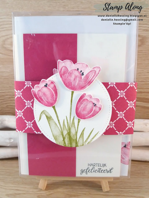Stampin'Up! Tranquil Tulips giftbox