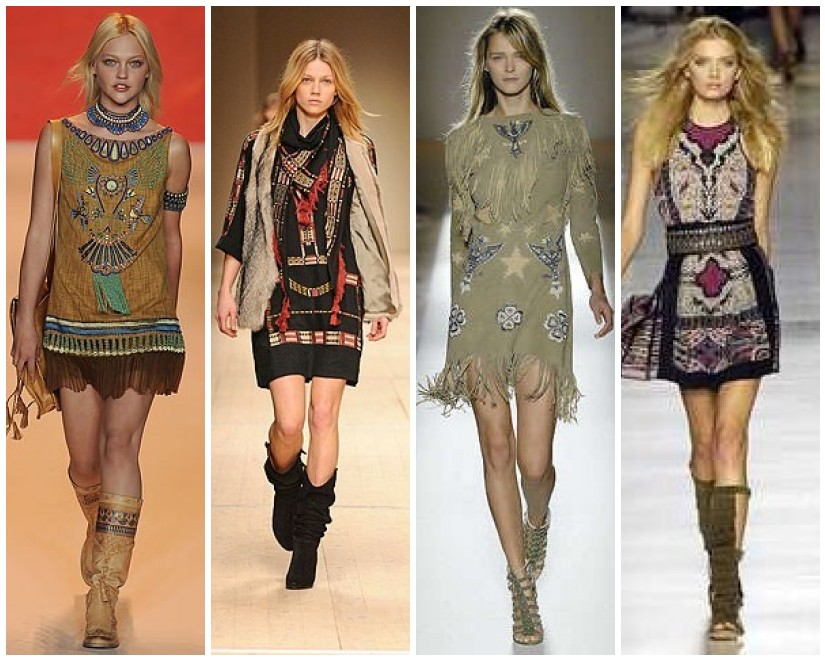 American indian fashion dresses
