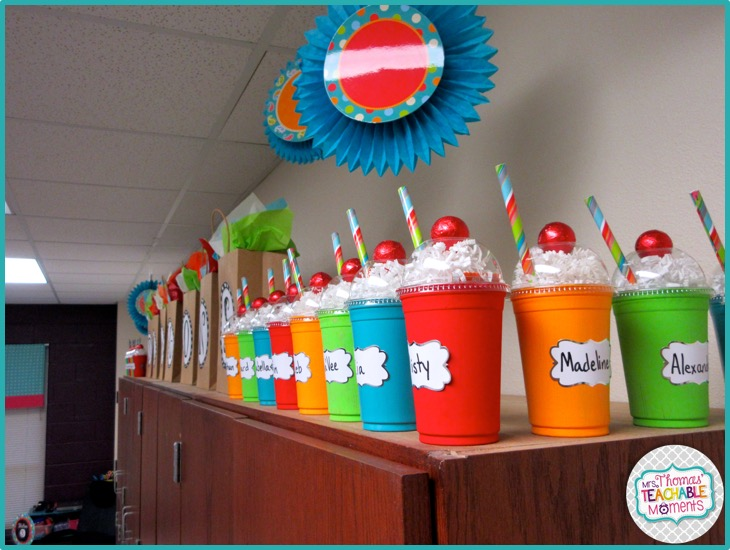 Classroom Birthday Ideas ~ Mrs thomas teachable moments