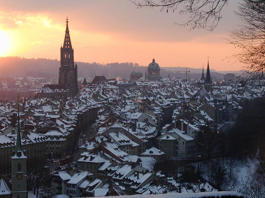 Bern Switzerland View World Beauty