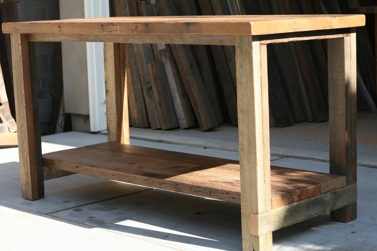 Arbor Exchange Reclaimed Wood Furniture Kitchen Island