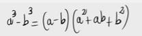 75.Deducción de la fórmula de la resta de cubos