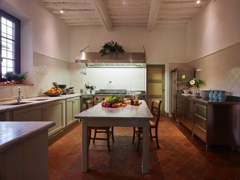 cucina stile country chic
