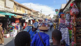 Dakar Markets are stressful