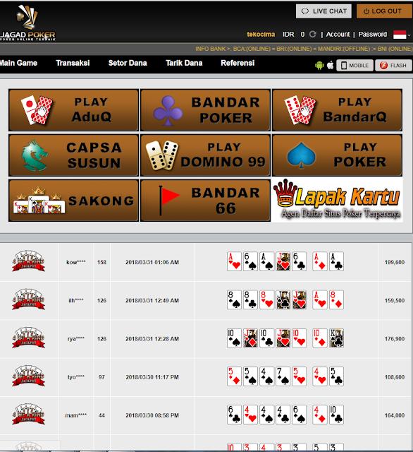 Lahansubur.info jelas agen poker domino qq online terpercaya di Indonesia