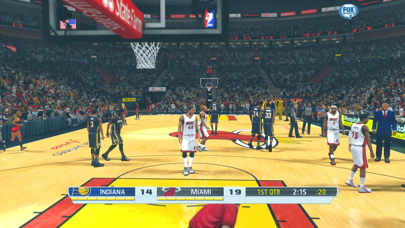 Best NBA 2K14 ENB + SweetFx Graphics Patch : Stadium Breathe