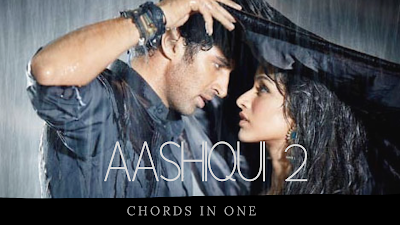 TUM HI HO Piano chords with Intro Solo Tab Accurate