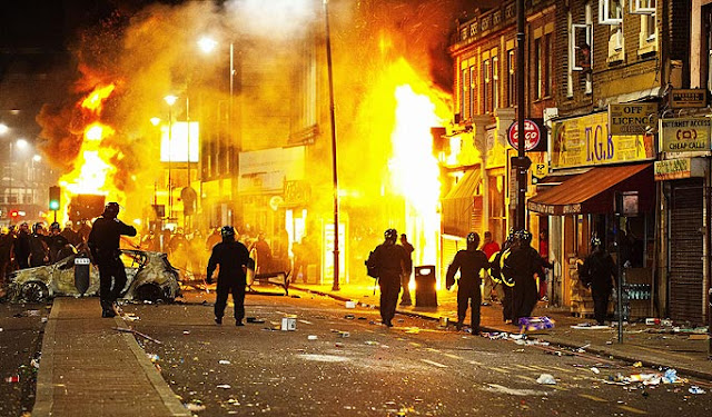 UK Race Riots 2011