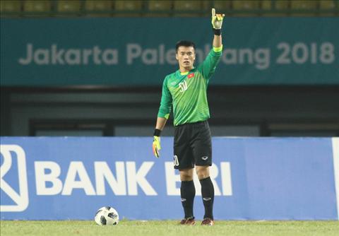 Thủ môn Bùi Tiến Dũng chơi rất tốt ở giải U23 Châu Á