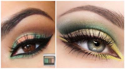 maquillaje-día-sombras-verdes