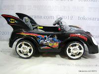 2 Mobil Mainan Aki Junior Z662 Batman BatMobile