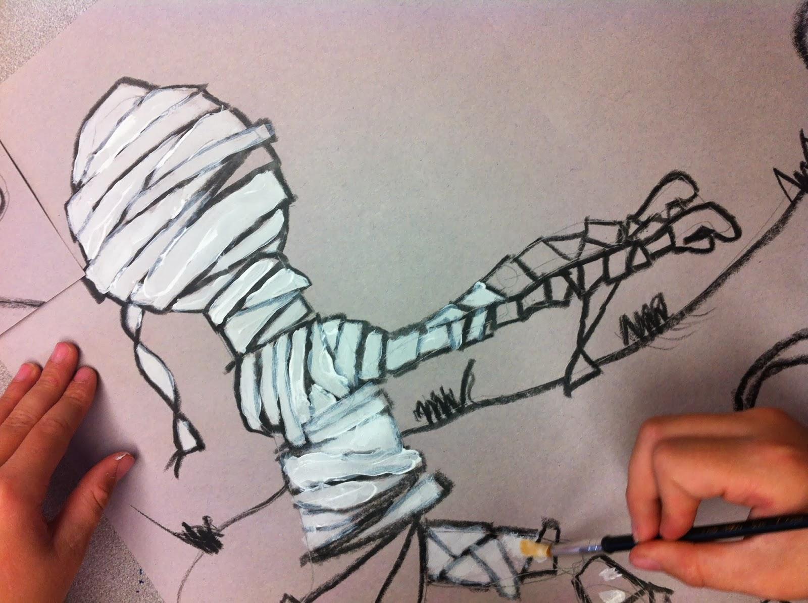 Fun Art 4 Kids Mummy Obsession
