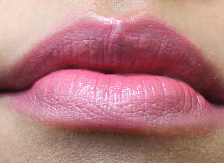 Review and swatches of the Dior Tie Dye lipsticks in Cosmic Pink and Fuchsia Utopia.