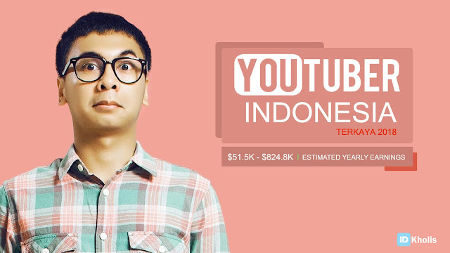 Youtuber Indonesia Terkaya 2018