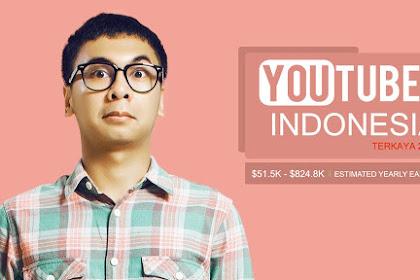 Youtuber Indonesia Terkaya 2018, Berapa Penghasilannya?