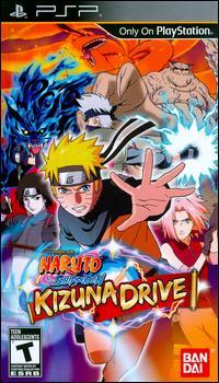 Naruto Shippuden Kizuna Drive PSP [Español - EUR] [MEGA]