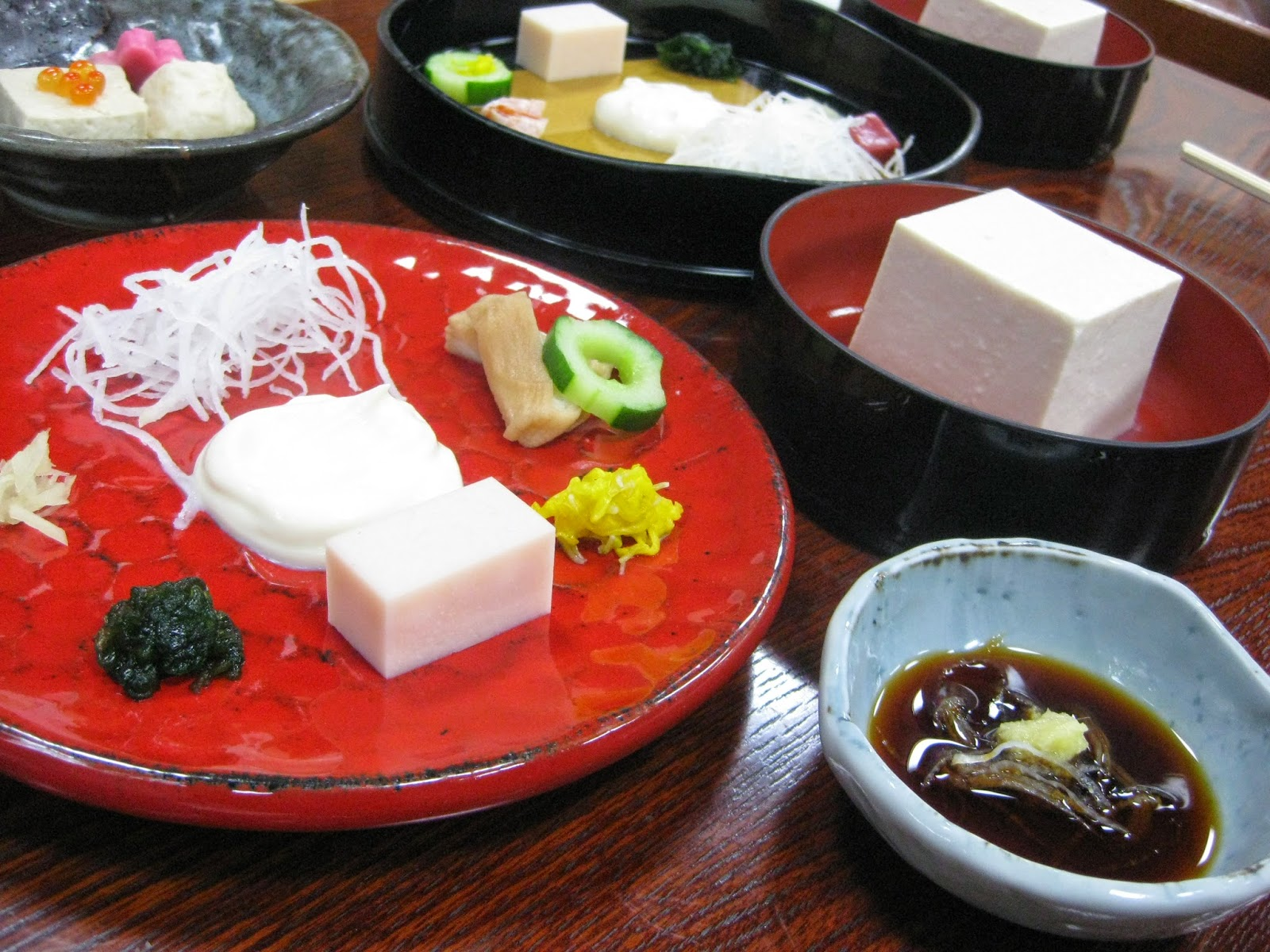 Tokyo - Tofu lunch course #1