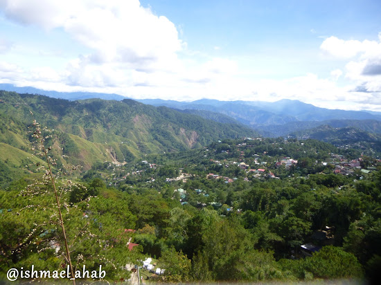 Mountains of Cordillera as viewed from Mines View Park of Baguio City