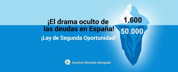 El iceberg de la segunda oportunidad en España