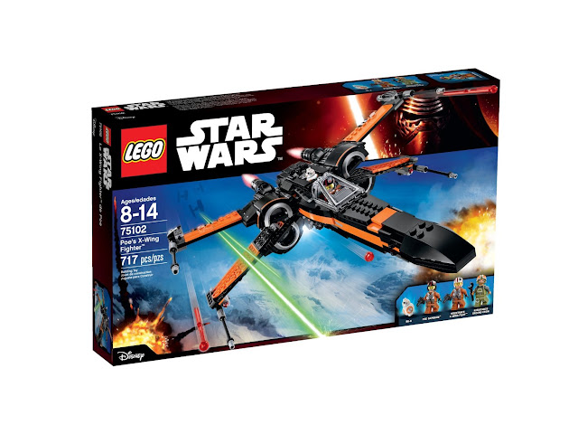 Lego set Poe Dameron's X-Wing Fighter