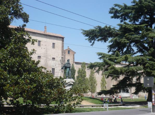 Piazza della Pace a Parma
