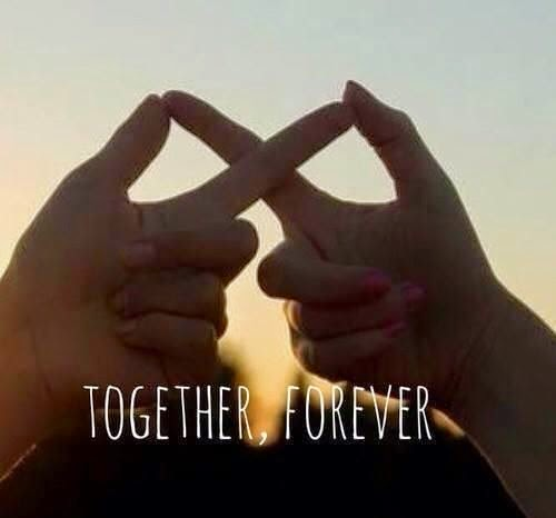 My Pinterest Love Quotes: Together, Forever :)