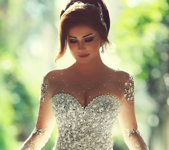 0835fdb34 فساتين زفاف 2016 ازياء عالمية محجبات فساتين جميلة جدا