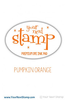 Premium Dye Ink Pad Pumkin Orange
