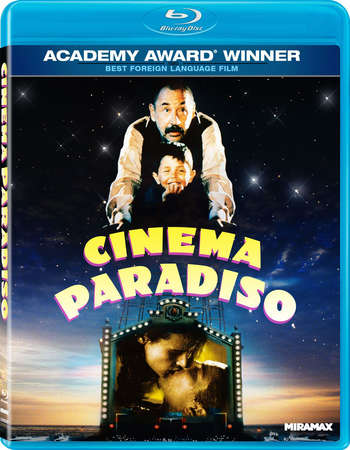 Poster Of Cinema Paradiso 1988 English 350MB BRRip 480p Free Download Watch Online
