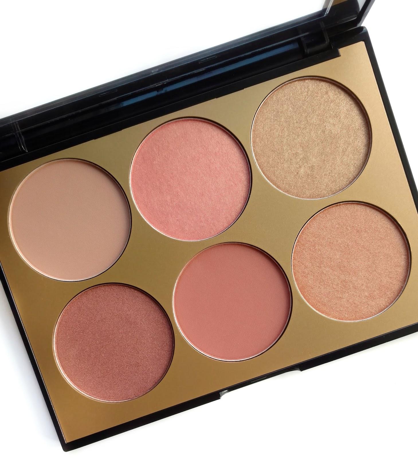 sephora collection contour blush palette