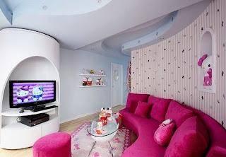 Gambar Ruangan Hello Kitty yang Indah 9