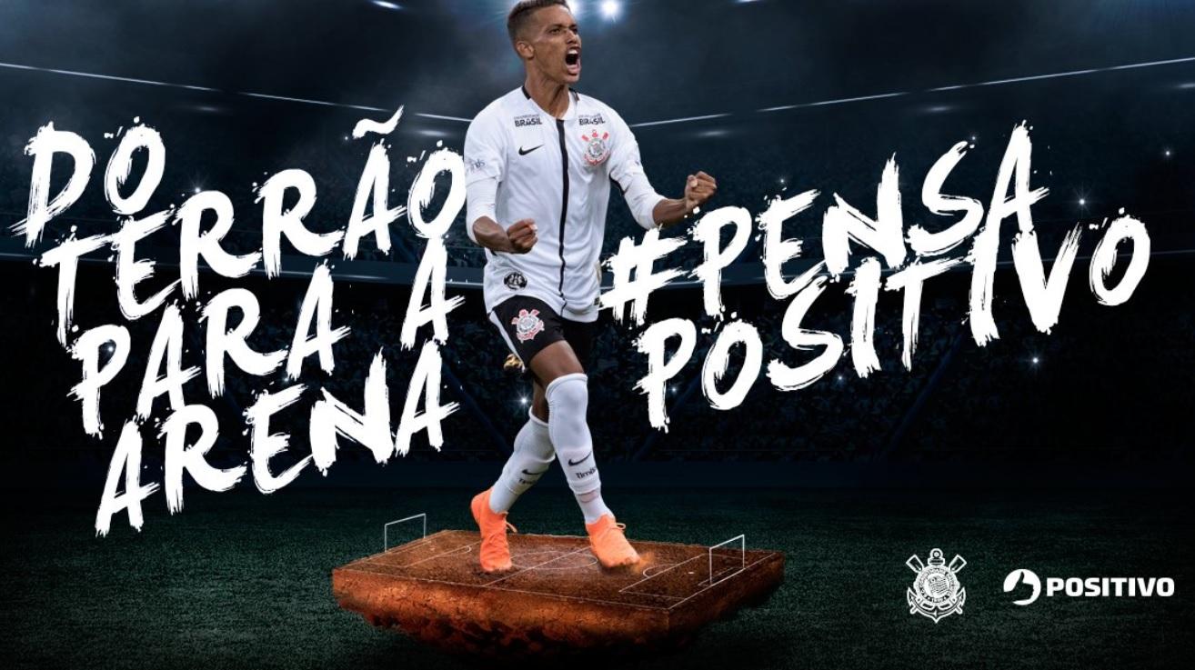 De olho no público jovem, Positivo focará em Pedrinho no Corinthians ~  FutGestão cd2ddef838