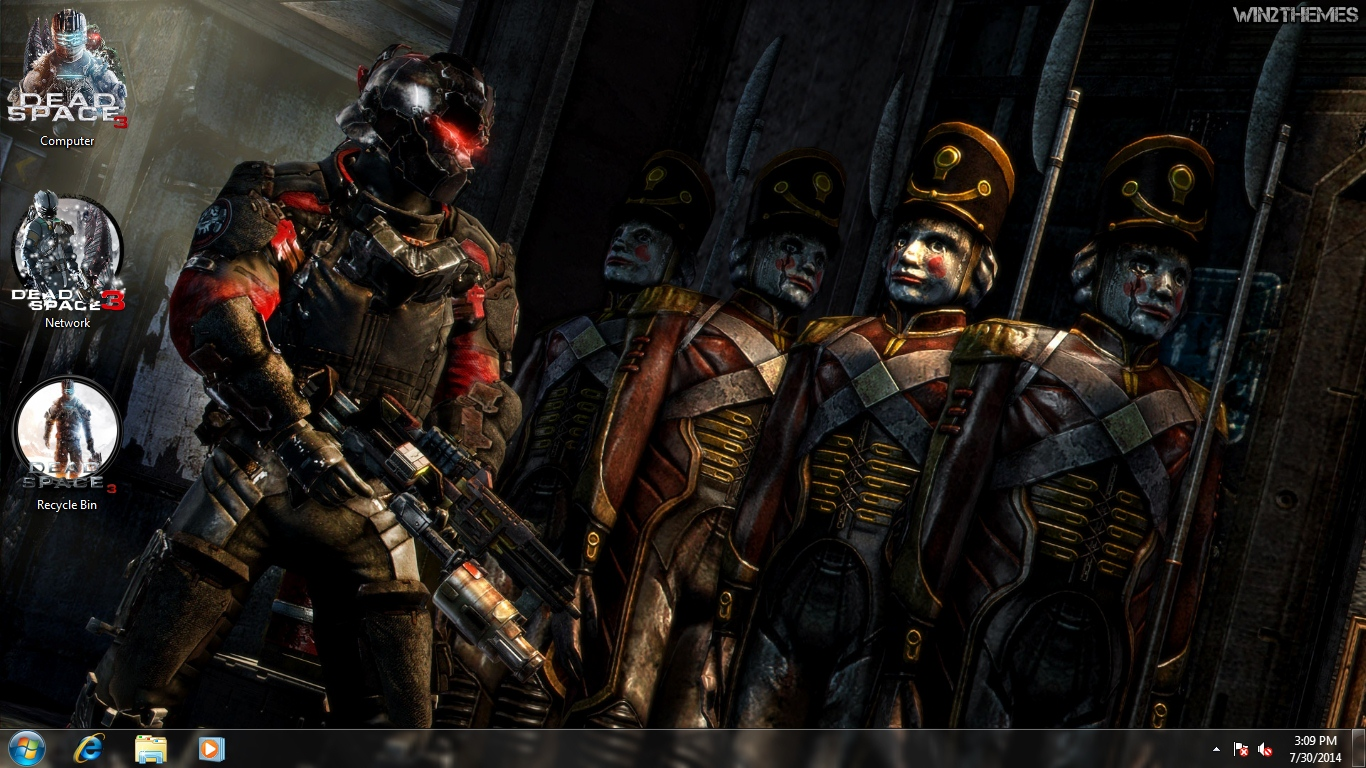 dead space 3 theme for windows 7 8 and 10 win2themes. Black Bedroom Furniture Sets. Home Design Ideas