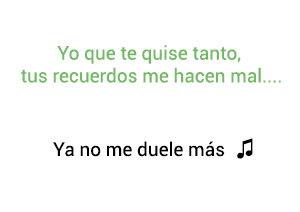 Silvestre Dangond Ya No Me Duele Más significado de la canción.