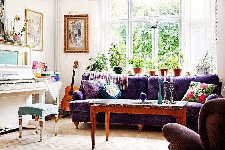 la fabrique d co des instruments de musique dans la maison selon les styles de d co. Black Bedroom Furniture Sets. Home Design Ideas