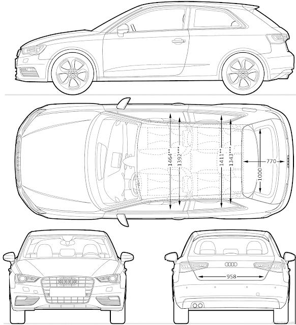 Most Loved Car Blueprints For 3d - Sh3.ME